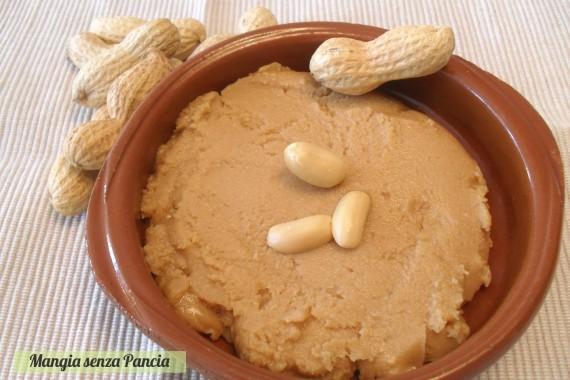 Burro di arachidi fatto in casa, ricetta base, Mangia senza Pancia