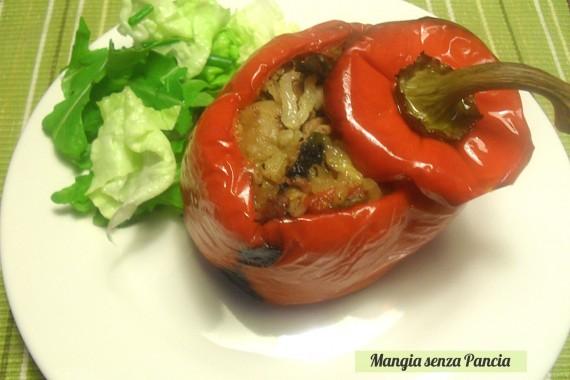 Peperoni ripieni light, ricetta fornetto Versilia, diario di una dieta - Giorno 411, Mangia senza Pancia