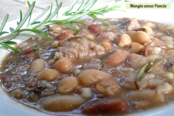 Zuppa di legumi e farro, Mangia senza Pancia
