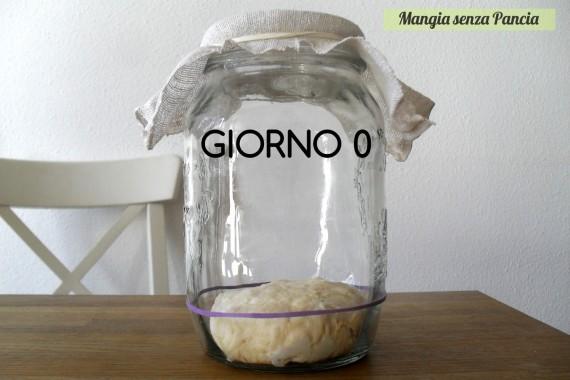 Pasta madre solida, giorno 0, diario di Cirilla, Mangia senza Pancia