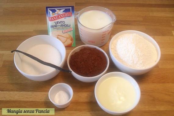 Ciambella al cioccolato light, ricetta senza uova o burro, Mangia senza Pancia