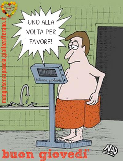 buon giovedí, pesata settimanale, diario di una dieta - Giorno 438 - Pesata 58, Mangia senza Pancia