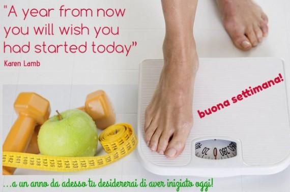 buona settimana - a year from now, diario di una dieta - Giorno 442, Mangia senza Pancia