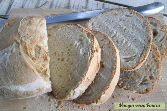 Pane Miss Cirilla, pasta madre solida, diario di una dieta - Giorno 418, Mangia senza Pancia