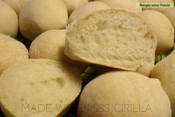 Panini all'olio Miss Cirilla, Ortobello, pasta madre solida, diario di una dieta - Giorno 426, Mangia senza Pancia