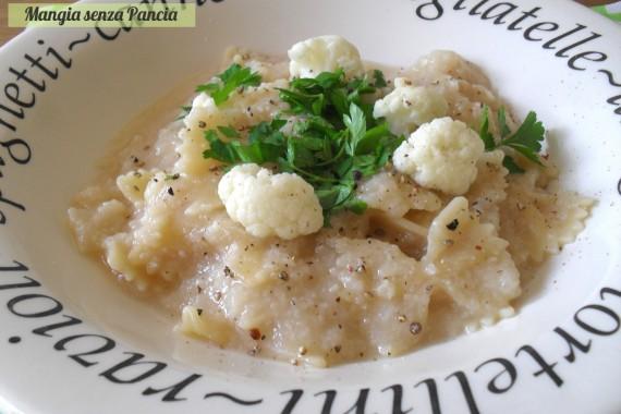 Pasta e cavolfiore, diario di una dieta - Giorno 437, Mangia senza Pancia