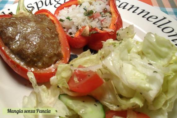 Peperoni ripieni misti, diario di una dieta - Giorno 457, Mangia senza Pancia