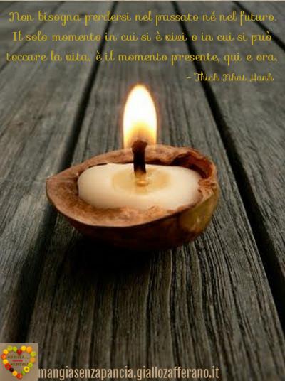 Momento presente Thich Nhat Hanh, motivational, buon venerdì, diario di una dieta - Giorno 447, Mangia senza Pancia