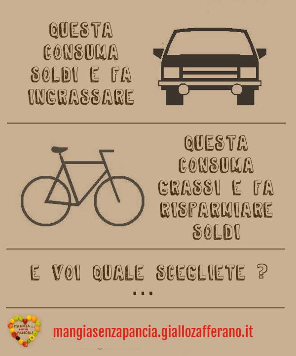 auto e bici, motivational, diario di una dieta - Giorno 449, Mangia senza Pancia