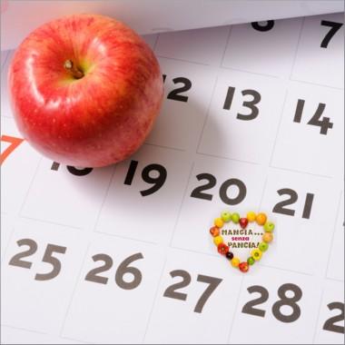 Diario della dieta mese per mese, Mangia senza Pancia