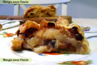 Strudel di mele light, ricetta passo passo, Mangia senza Pancia