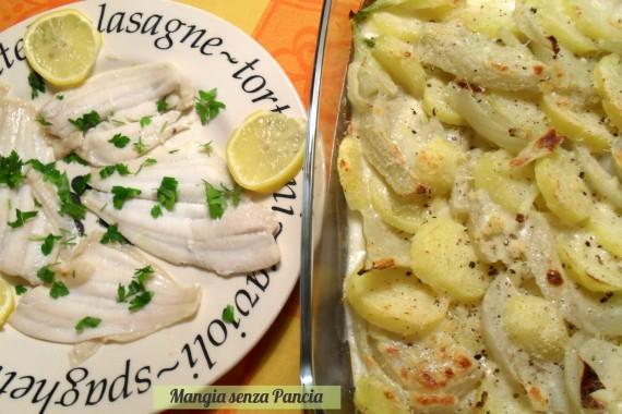 Patate e finocchi gratinati, diario di una dieta - Giorno 457, Mangia senza Pancia
