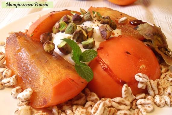 Kaki caramellato croccante, ricetta leggera, oltre la dieta: il diario - 13 dicembre 2013, Mangia senza Pancia