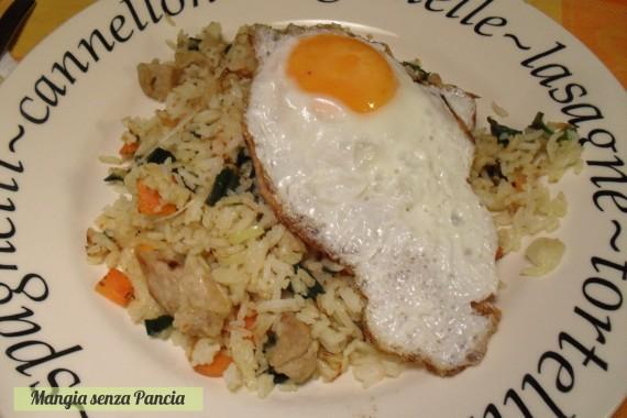 Nasi Goreng, diario di una dieta, Mangia senza Pancia