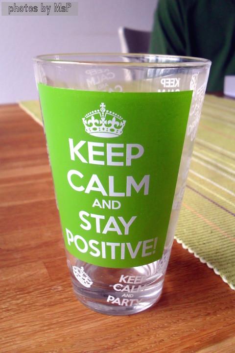 bicchiere keep calm, oltre la dieta: il diario - 26 dicembre 2013, Mangia senza Pancia