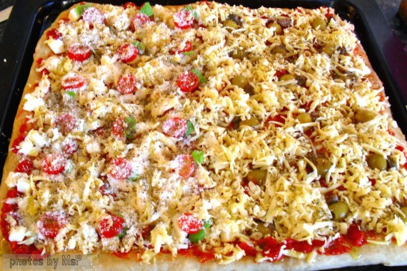 pizza x buffet, oltre la dieta: il diario - 26 dicembre 2013, Mangia senza Pancia