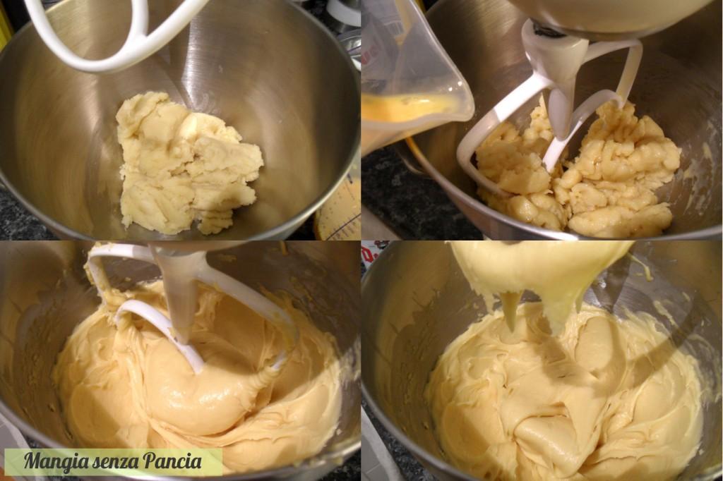 Bignè al cioccolato (o sciù), ricetta leggera, Mangia senza Pancia