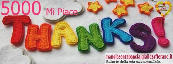 5000 grazie fb, oltre la dieta: il diario - 25 gennaio 2014, Mangia senza Pancia