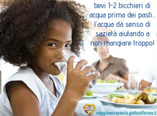 bere acqua prima dei pasti, motivational, oltre la dieta: il diario - 26 gennaio 2014, Mangia senza Pancia
