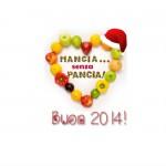 buon 2014, oltre la dieta: il diario - 1 gennaio 2014, Mangia senza Pancia