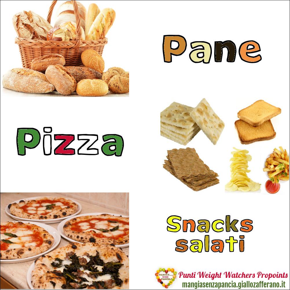 Assez Punti Weight Watchers Propoints: liste alimenti - Mangia senza Pancia CJ31