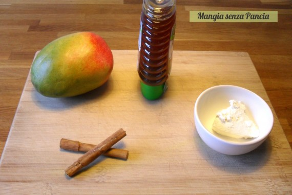 Mousse al mango light, ricetta semplice, Mangia senza Pancia