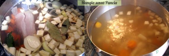 Minestra pollo e riso, ricetta leggera, Mangia senza Pancia