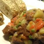Spezzatino con patate e piselli, oltre la dieta: il diario - 21 gennaio 2014, Mangia senza Pancia