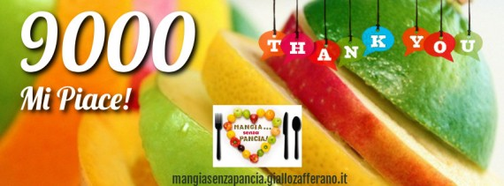 9000 grazie fb, oltre la dieta: il diario - 20 febbraio 2014, Mangia senza Pancia