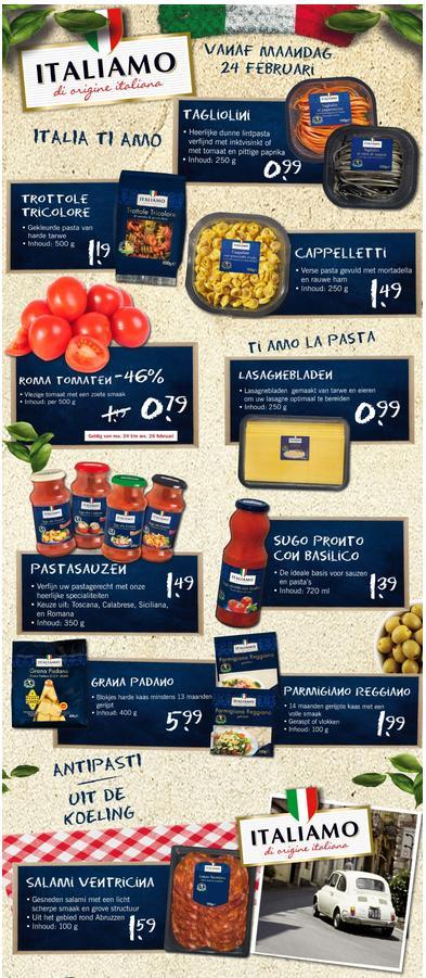 Lidl Italiamo, oltre la dieta: il diario - 25 febbraio 2014, Mangia senza Pancia
