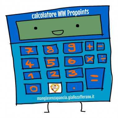 Calcolatore Punti WW Propoints, Mangia senza Pancia