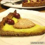 crostata crema e ciliegie, oltre la dieta: il diario - 2 febbraio 2014, Mangia senza Pancia