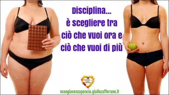 disciplina è scegliere, motivational, oltre la dieta: il diario - 4 febbraio 2014, Mangia senza Pancia