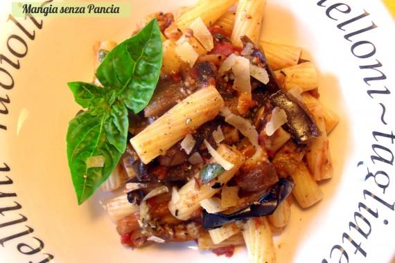 Pasta alla norma light, oltre la dieta: il diario - 10 febbraio 2014, Mangia senza Pancia