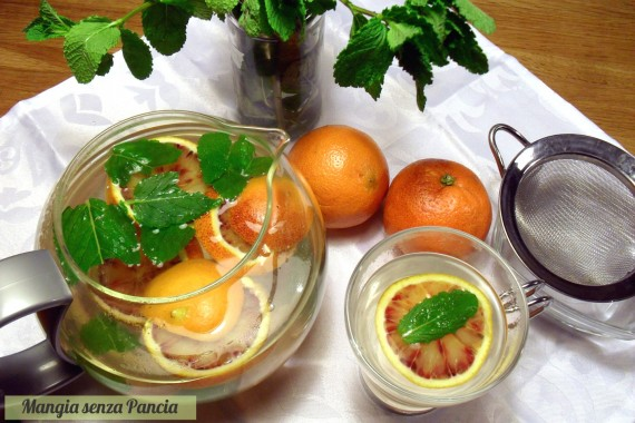 Tisana digestiva menta e arancia, oltre la dieta: il diario - 10 marzo 2014, Mangia senza Pancia