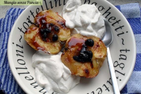 mela cotta con uvetta e bacche di goji, oltre la dieta: il diario - 4 febbraio 2014, Mangia senza Pancia