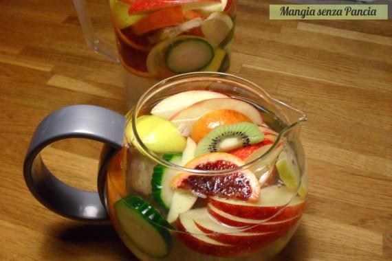Bevanda depurativa alla frutta invernale, Mangia senza Pancia