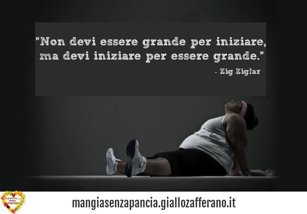 devi essere grande, motivational, oltre la dieta: il diario - 16 febbraio 2014, Mangia senza Pancia