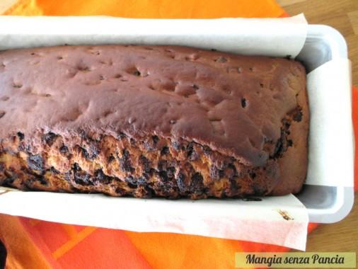 Plumcake yogurt e cioccolato, Mangia senza Pancia