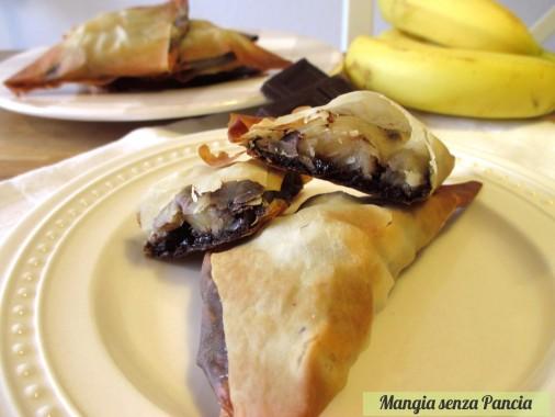 Triangolini banana e cioccolato, oltre la dieta: il diario - 31 marzo 2014, Mangia senza Pancia