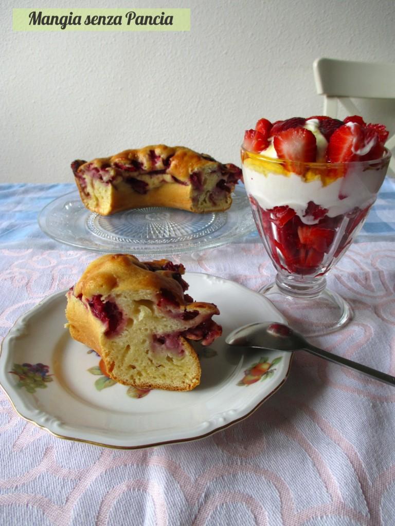 Ciambellone alle fragole senza grassi, oltre la dieta: il diario - 15 marzo 2014, Mangia senza Pancia