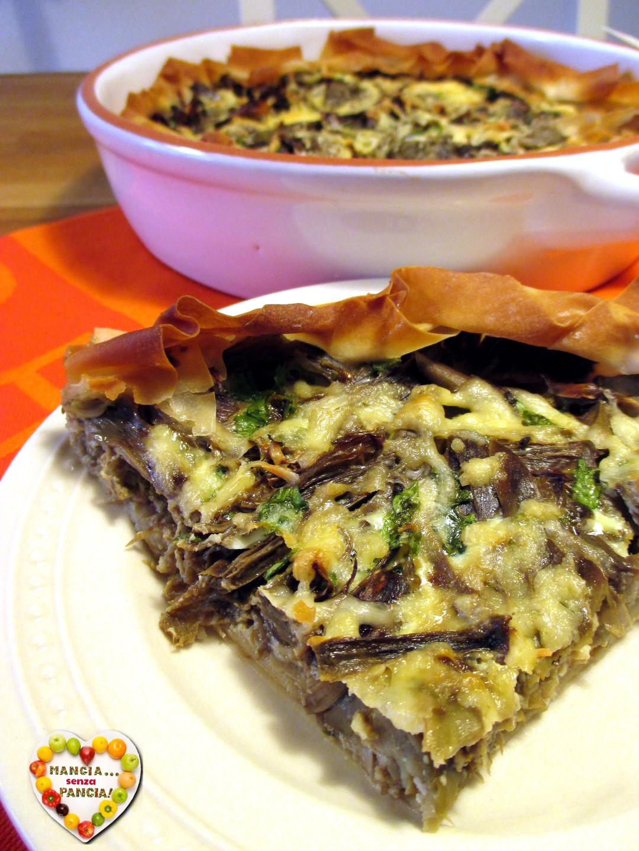 Quiche di carciofi e formaggio, Mangia senza Pancia