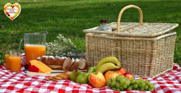 Ricette da picnic e da asporto leggere, Mangia senza Pancia