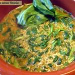 Zuppa lenticchie spinaci e quinoa, menu dieta, Mangia senza Pancia