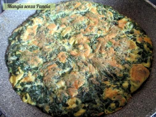 Frittata di spinaci leggera, Mangia senza Pancia