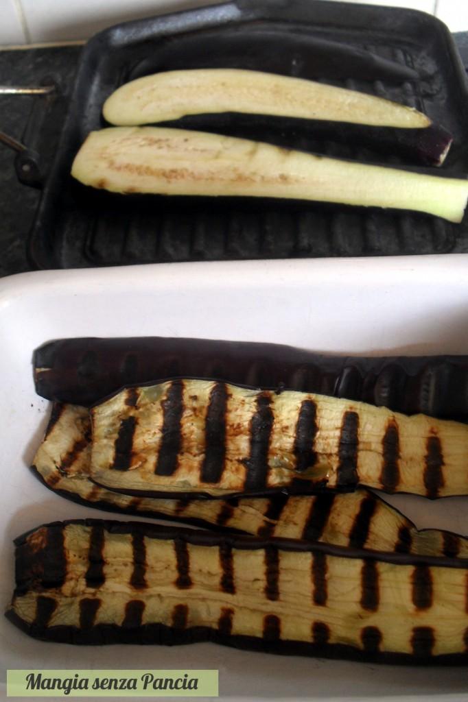 Involtini di melanzane vegetariani, Mangia senza Pancia