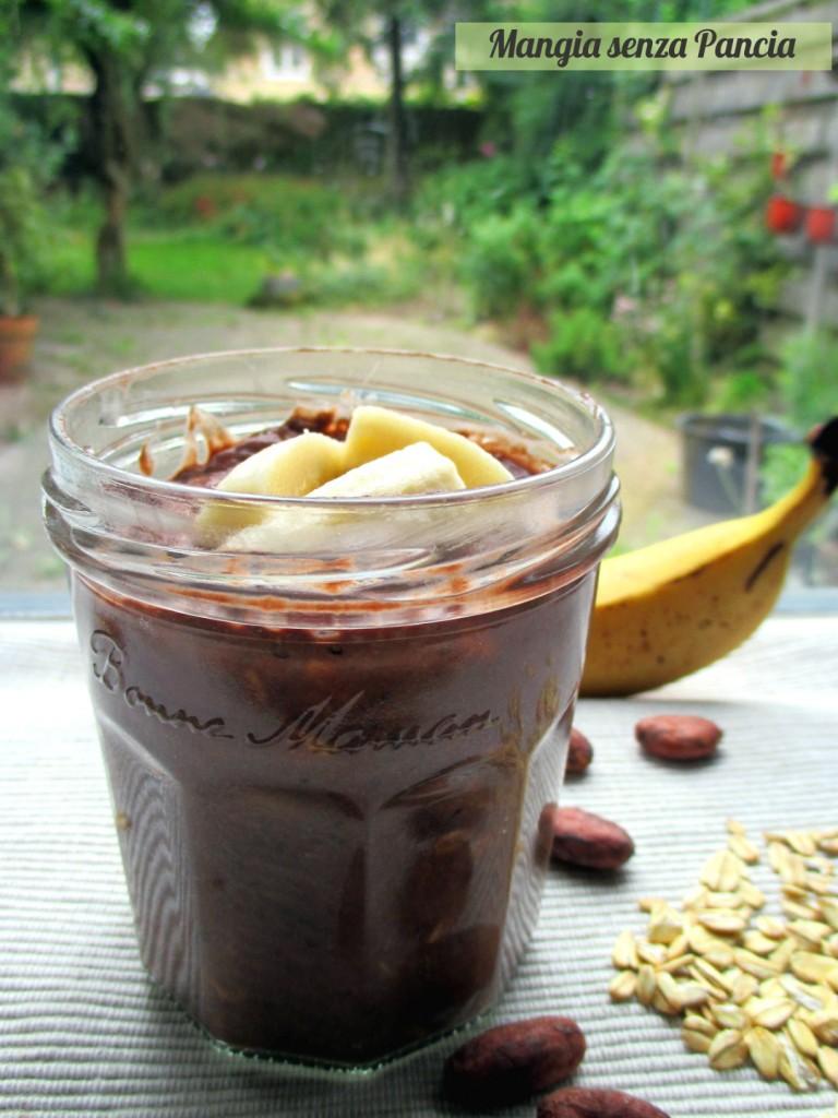 Porridge estivo banana e cacao, Mangia senza Pancia