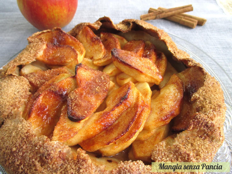 Crostata di mele rustica la galette mangia senza pancia for Crostata di mele