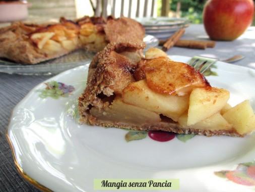 Crostata di mele rustica: la galette, Mangia senza Pancia