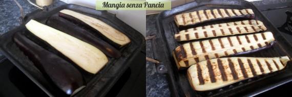 Melanzane grigliate al basilico, Mangia senza Pancia